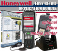 Honeywell Dolphin 6500 Kit with Easy Retail TracerPlus app