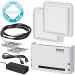 PTS Feig Long Range RFID Kit w/ ClearStream RFID Software