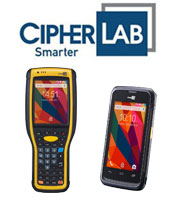 CipherLab Barcode Scanner Systems