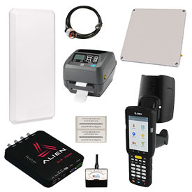 Fixed and Mobile RFID solutions from Motorola, Alien, Impinj, Jamison RFID and Zebra