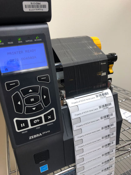 Zebra ZT410R Silverline UHF Industrial RFID Tag Printer
