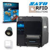 PTS SATO HF RFID Label Printer Starter Kit featuring the CL4NX