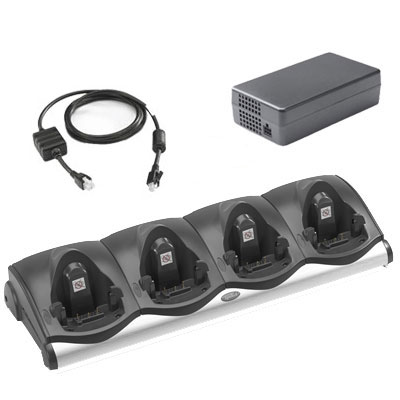 Zebra CRD9101-411CES 4 Slot Charging Cradle Kit