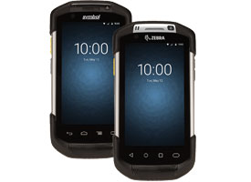 Zebra TC70 and TC75 Rugged Android Barcode Terminals