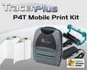 "PTS P4T 4"" Thermal Transfer Label Printing Kit - Windows Mobile"
