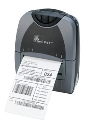 Zebra P4T Thermal Transfer Mobile Printer