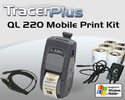 "PTS QL 220 Plus 2"" Mobile Label/Receipt Printing Kit - Windows Mobile"
