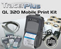 "PTS QL 320 Plus 3"" Mobile Label/Receipt Printing Kit - Palm OS"