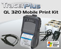 "PTS QL 320 Plus 3"" Mobile Label/Receipt Printing Kit - Windows Mobile"