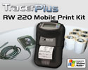 "PTS RW 220 2"" Mobile Receipt Printing Kit - Ruggedized"
